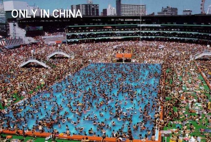 piscina publica en china chorradas humor y ocio